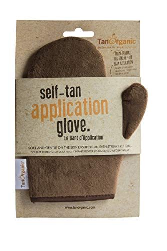 TanOrganic: Selbstbräunungs-Applikationshandschuh für streifenfreie sonnenlose Bräune