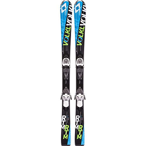 Volkl RTM Jr. Kids Skis with Marker 3Motion 4.5 Bindings 2016 - 100cm