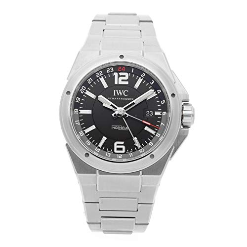 IWC Ingenieur Black Dial Stainless Steel Mens Watch IW324402