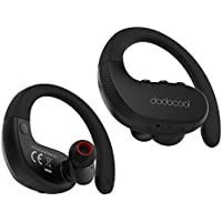 Wireless Earbuds, dodocool True Wireless Stereo Sports In-Ear Bluetooth Headphone with IPX5 Splash-proof/Mic CVC 6.0 Support Noise Cancellation TWS