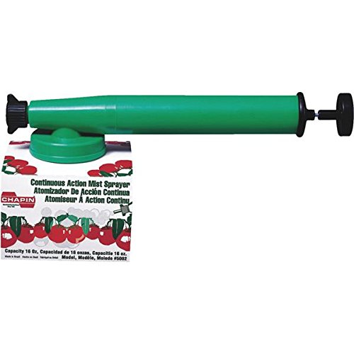 Liquid Mist - Chapin 5002 16-Ounce Continuous Action Liquid Mist Hand Sprayer For Fungicides and Pesticides