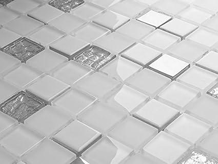 Lusso vetro mosaico pearl 102 piastrelle bagno cucina prodotto di