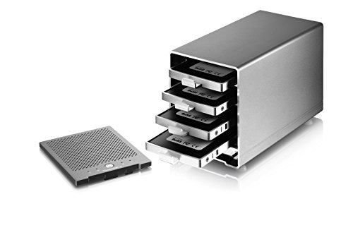Thunder3 Quad Mini (Thunderbolt3 4-Bay Enclosure Only) - MacOS and Windows Certified by Akitio (Image #4)
