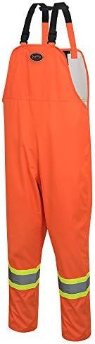 Loose Fit Waterproof Work Bib Pants - Tear-Resistant, Fully Adjustable
