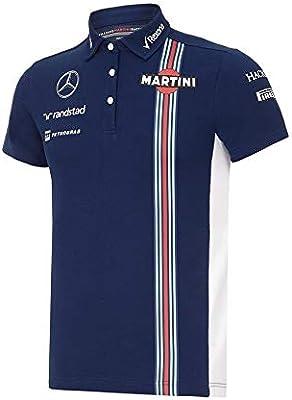 Williams Martini F1 - Polo para mujer, color azul marino, Mujer ...