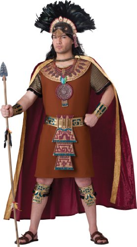 Mayan King Costume - X-Large - Chest Size 46-48 ()