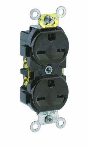Leviton 5028 Receptacle Commercial Grounding