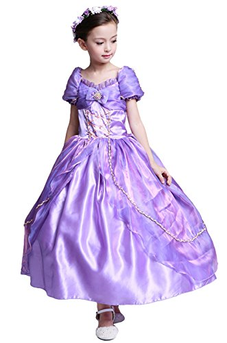 Sophia The First Costumes (sophiashopping Girl's Princess Halloween Costumes Long Fancy Party Dress)