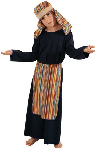 Christmas-Nativity-School Plays CAMEL STRIPE INNKEEPER/'S WIFE Outfit All Ages