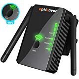 [Upgraded 2018] WiFi Extender with WPS Internet Signal Booster - Wireless Repeater 2.4GHz Band up to 300 Mbps - Best Range Network/Compatible with Alexa/Extends WiFi to Smart Home & Alexa Devices