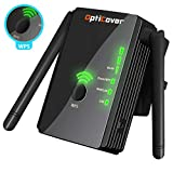 [Upgraded 2018] WiFi Extender with WPS Internet Signal Booster - Wireless Repeater 2.4GHz Band up to 300 Mbps - Best Range Network/Compatible with Alexa/Extends WiFi to Smart Home/Alexa Devices