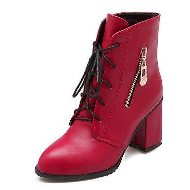 De donna-tacchi-matrimonio/Oficina y Trabajo/vestir/Casual/planeta y festa-tacchi/botas/botas de vaquero/botas de nieve, rojo, us9.5-10 / eu41 / uk7.5-8 / cn42 rojo