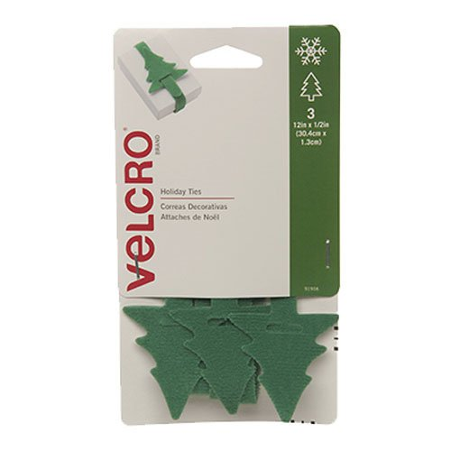 VELCRO Brand Holiday ONE WRAP Shapes