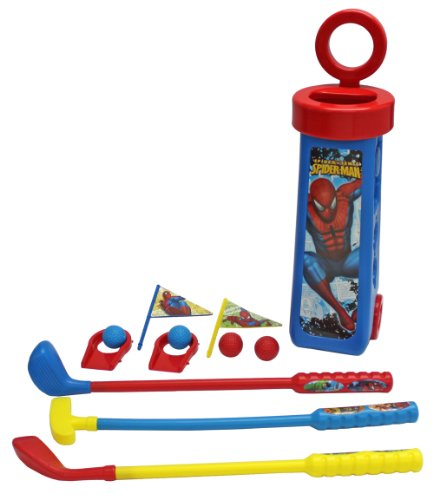 What Kids Want Spiderman Golf Caddy
