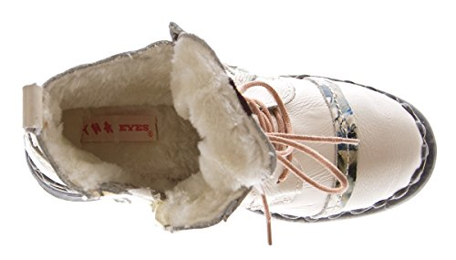 Atm À Weiß Creme Femme Et Lacets Tma Chaussures Coupe Classique Blanc g4vgr