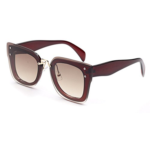 V House Celebrity Fashion Square Thick Beveled Frame Sunglasses for Women - Sunglasses Okey Website