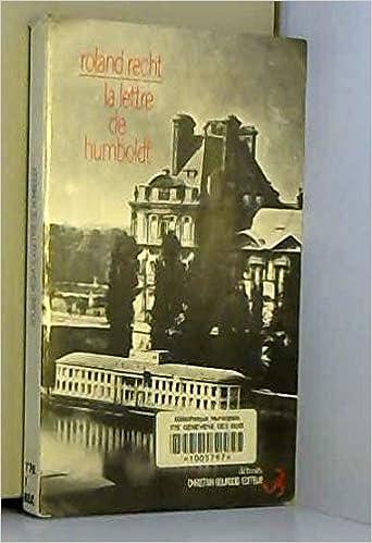 lettre Humboldt