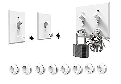 Amazon.com: Soporte magnético para clave, clave estante ...