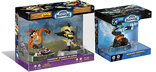 Thumpin' Whumpa Islands Starlanders Imaginators 3-Character Bundle - Crash Bandicoot, Dr. Neo Crotex & Master Tidepool (Ps3 Games Spongebob)