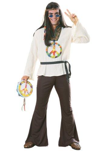 Adult Groovy Hippie Costume (Adult Groovy Hippie Costumes)