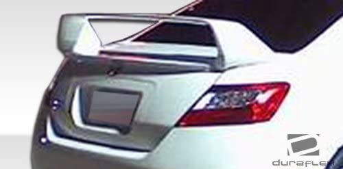Brightt Duraflex ED-FTR-633 Sigma Wing Trunk Lid Spoiler 1 Piece Body Kit Compatible With Civic 2006-2011