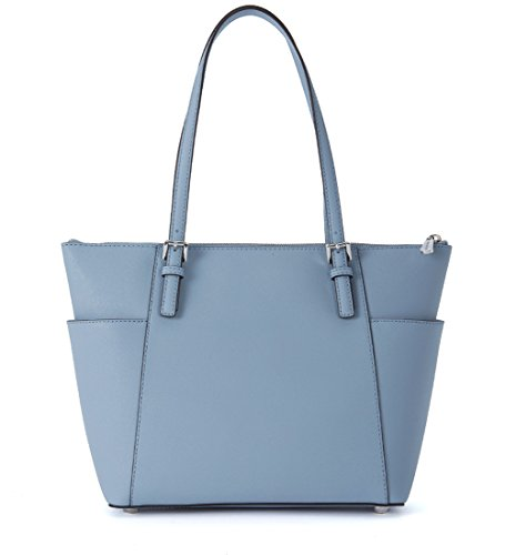 Borsa Jet Set pelle blu shopping saffiano in Michael Kors PPwrURqp