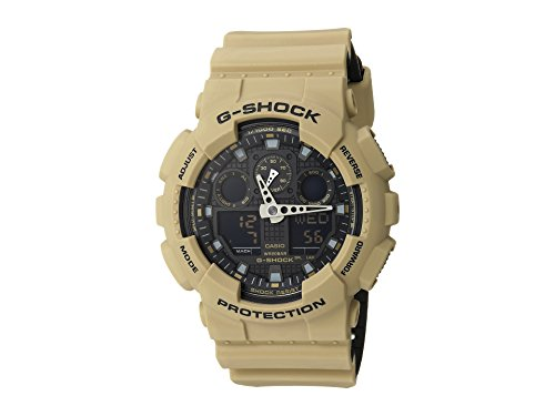 Casio G-Shock GA-100L Military Series Watches (Tan)