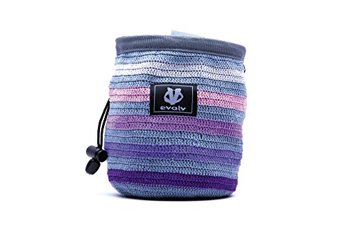 Evolv Knit Chalk Bag - Iris ()
