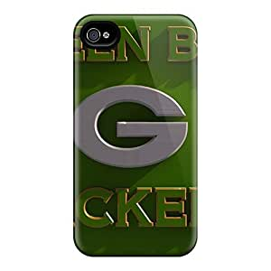 GAwilliam Scratch-free Phone Case For Iphone 4/4s- Retail Packaging - Green Bay Packers by lolosakes