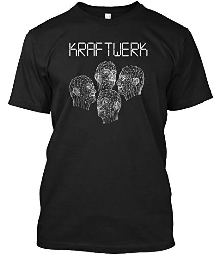 Kraftwerk XLT - Black Tshirt - Hanes Tagless Tee