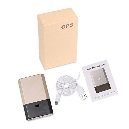 HITSAN car gps tracker a11 powerful magnets voice monitor standby 90days 5000mah demolition vibration alarm system gps agps lbs locator