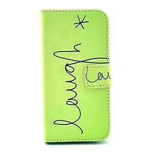 Para Galaxy S5 mini , ivencase Magnética Billetera PU Cuero Stand Solapa Cierre Protector Funda Carcasa Tapa Case Cover Para Samsung Galaxy S5 mini / SM-G800