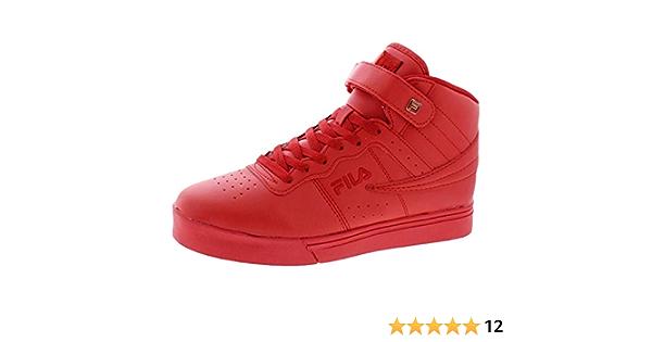 amazon fila casual zapatillas rojas