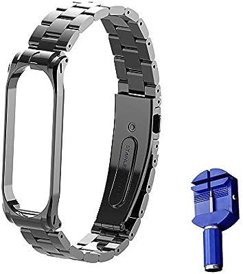 Amazon.com: OLLIVAN Bands for Xiaomi Mi Band 4 Wristband ...