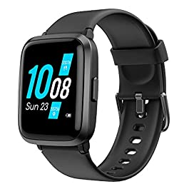 YAMAY Smart Watch, Watches for Men Women Fitness Tracker Blood Pressure Monitor Blood Oxygen Meter Heart Rate Monitor…