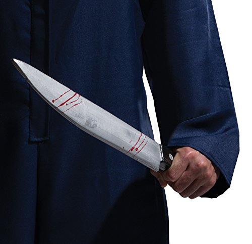 Rubie's Costume Halloween Movie, Large Butcher Knife Multicolor, One Size - Horror Movies Costumes