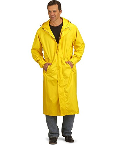 Outback Slicker (Outback Trading Co Men's pak-A-Roo Waterproof DusterImages 301/341 Sent 1/2/18 Gold X-Large)