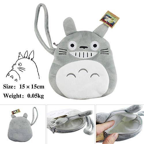 Totoro Cartes Anime Et Swvv Homme D Paquet Femme Portefeuille monnaie Porte De Unisexe Pour EwvqawH