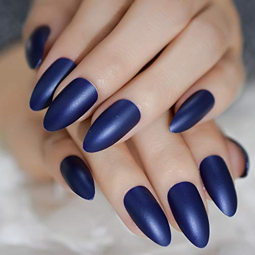 Frosted Grape Purple Matte Press On False Nail Art Tips For Fake Nails Tips Extension Manicure Art For Finger Faux Nails -