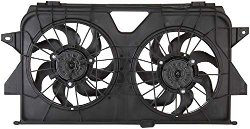 Spectra Premium CF13012 Dual Radiator Fan Assembly