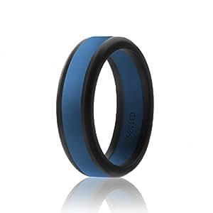 Amazon.com: SOLEED Silicone Wedding Ring for Men (Power X