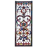 325 Hand-cut Pieces Stained Glass Window