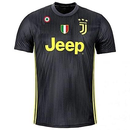 ac68a378f3c GOLDEN FASHION Juventus Third KIT 2018-19 Football Jersey with Short (XL  42 quot