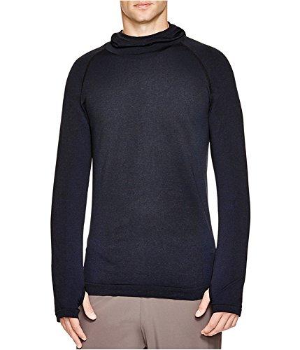 b4b14d15809 Human Performance Engineering HPE Mens Hooded Basic T-Shirt Navy L