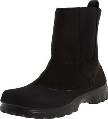 Amazon.com | crocs Men's Greeley Boot, Black, 7 M US