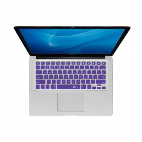 Y Keyboard Cover for MacBook Air and Pro - Purple Checkerboard (CB-M-Purple)
