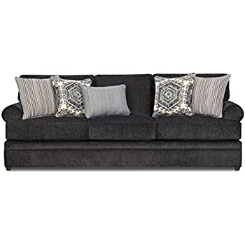 Amazon Com Simmons Upholstery 8530br 03 Bellamy Slate