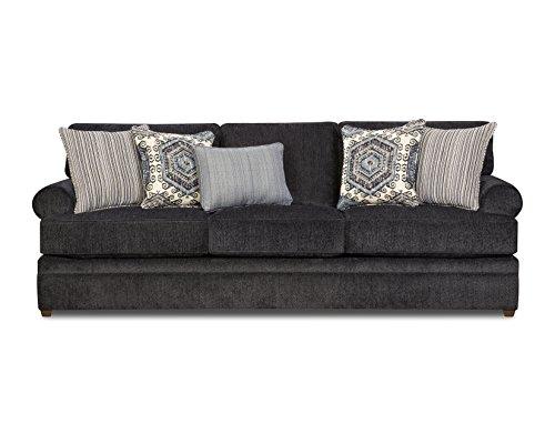 Simmons Upholstery 8530BR-03 Bellamy Slate Sofa,