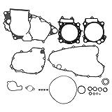 Akozon Seal Gasket Top Bottom End Engine Set Seal Gasket Kit for Honda CRF450R 2002-2008