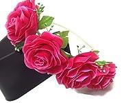 Floral Crown Circlet Tiara Handmade Headband:A2